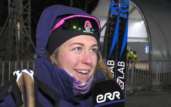 Estonian biathlete Johanna Talihärm.
