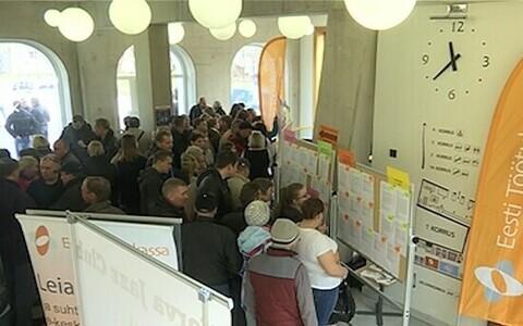 Безработица - актуальная проблема для Эстонии.