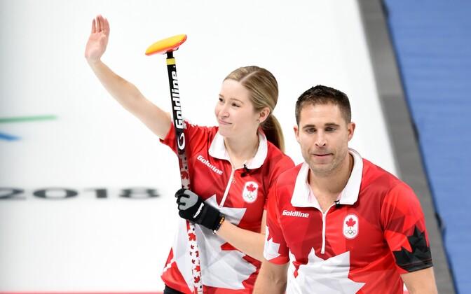 Kanada curlingumängijad Kaitlyn Lawes ja John Morris