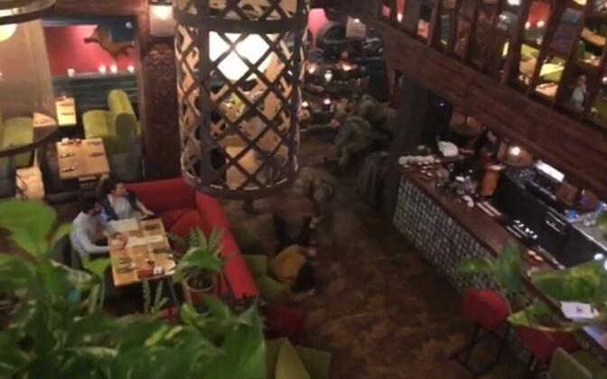 Задержание произошло в ресторане