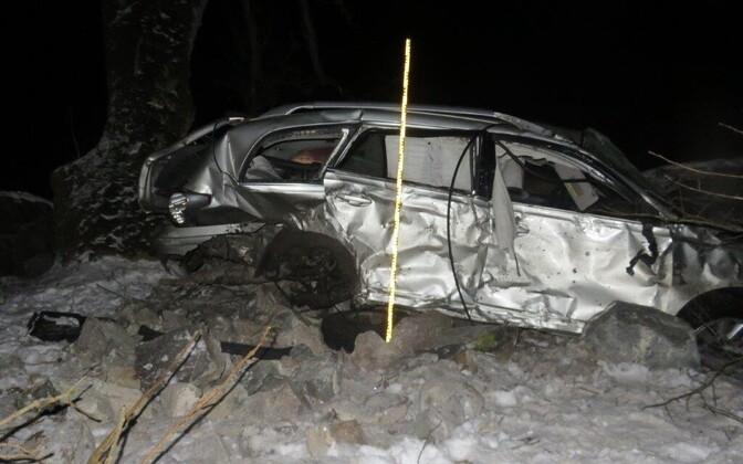 Liiklusõnnetus Raplamaal.