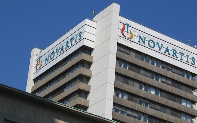 Novartise peakontor Baselis.