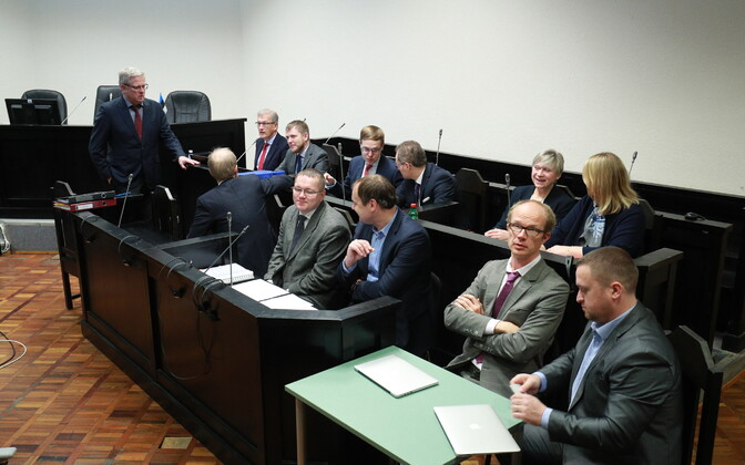 Адвокаты по делу AS Tallinna Sadam.