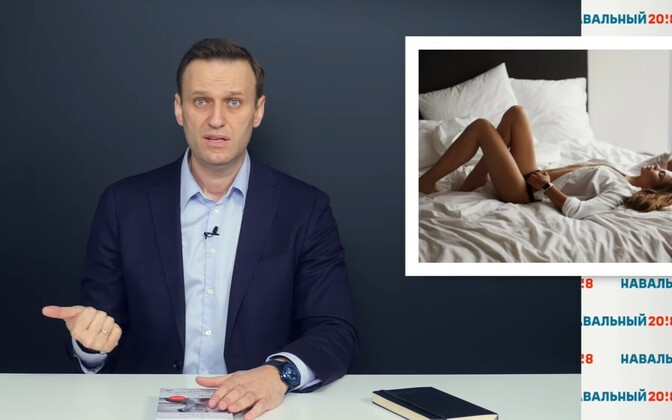 Aleksei Navalnõi ja Nastja Rõbka foto.