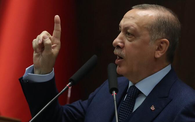 Türgi president Recep Tayyip Erdogan.