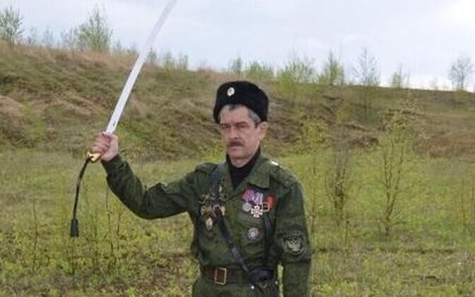 Väidetavalt Süürias langenud Kaliningradi kasakas Vladimir Loginov.