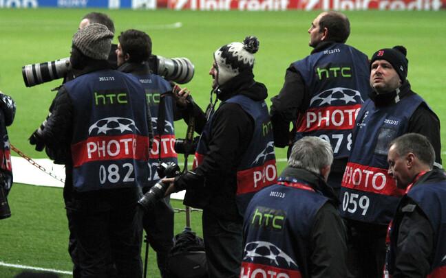 Spordiajakirjaniku igapäevatöö osa võib olla ka fotode püüdmine.
