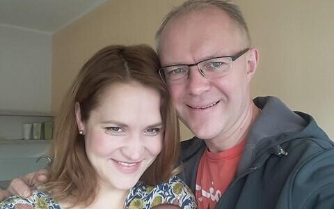 Riina ja Hannes Hanso pojaga