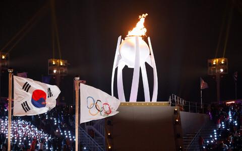 Церемония открытия Олимпиады в Пхенчхане.