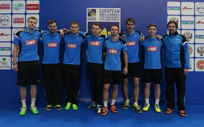 Eesti meeste sulgpallikoondis