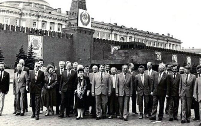 В Нарве открывается фотовыставка об эстонцах в Кремле.
