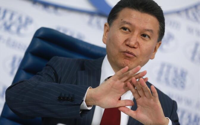 Fide president Kirsan Iljumžinov.