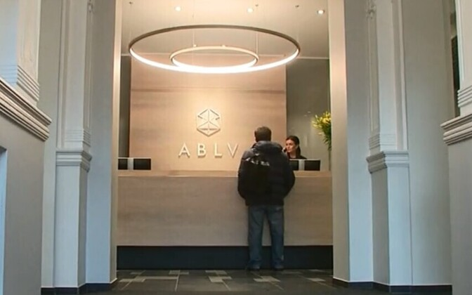 ABLV Bank in Riga.