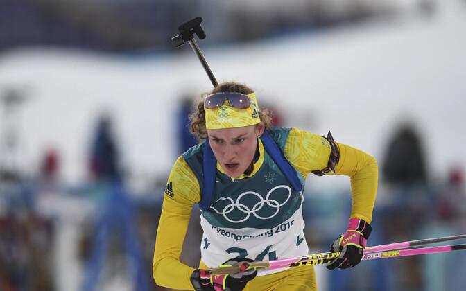 Шведская биатлонистка Ханна Эберг стала олимпийской чемпионкой Пхенчхана-2018