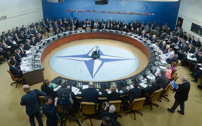 NATO kaitseministrid 15. veebruaril Brüsselis.