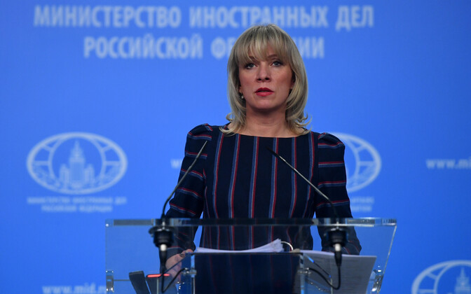 Venemaa välisministeeriumi pressiesindaja Maria Zahharova.