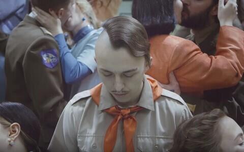 Kaader Tommy Cashi muusikavideost