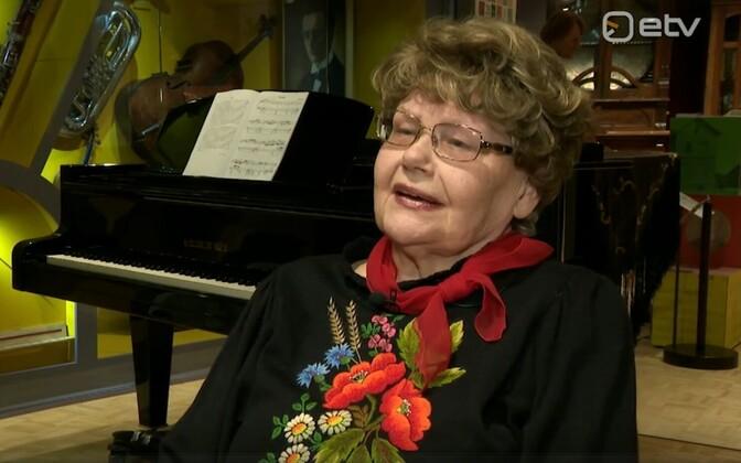 Хели Ляэтс (1923-2018).
