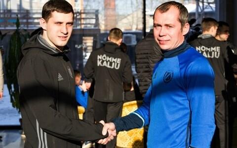Aleksandr Volkov (vasakul) ja Sergei Terehhov