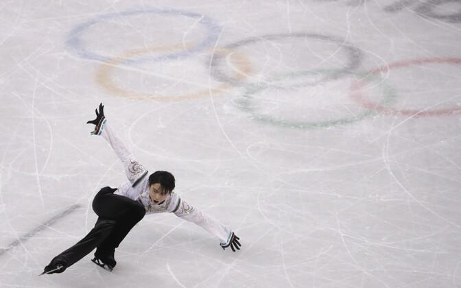 Двукратный олимпийсктй чемпион - японский фигуристЮдзуру Ханю.