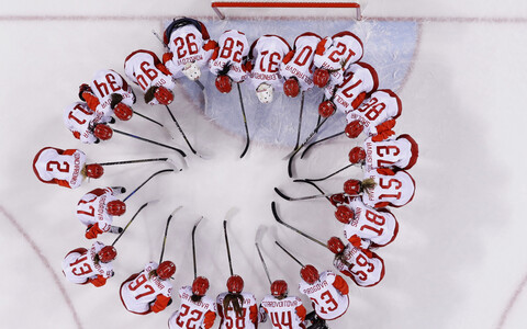 Venemaa jäähokinaiskond, kes võistleb PyeongChangis neutraalse olümpia lipu all
