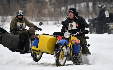 Classic riders winter rally