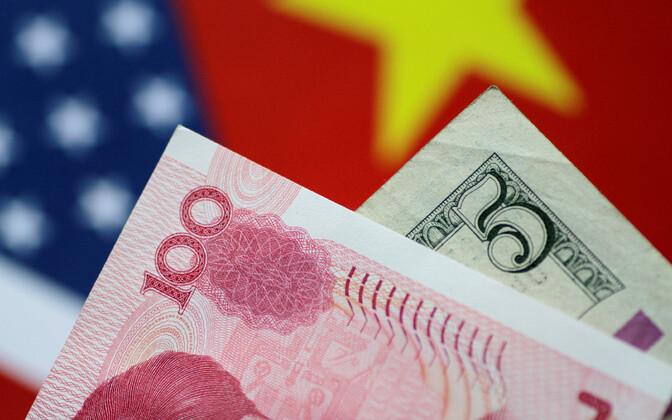 USA dollar ja Hiina jüaan.