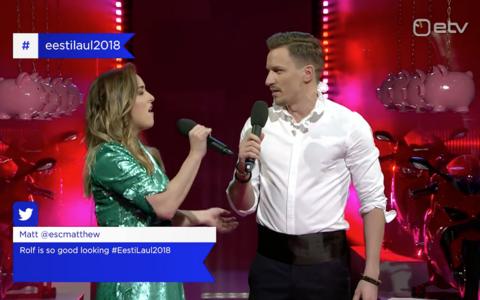 Kristel Aaslaid ja Rolf Roosalu proovisid esitada Eesti Laulu ajaloo kõige pikemat nooti