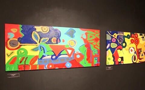 Tarrvi Laamanni tööde näitus.