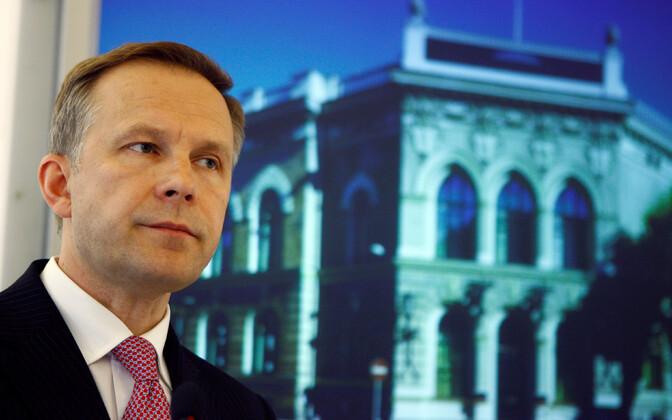 Руководителя  Банка Латвии задержали поделу овымогательстве взяток