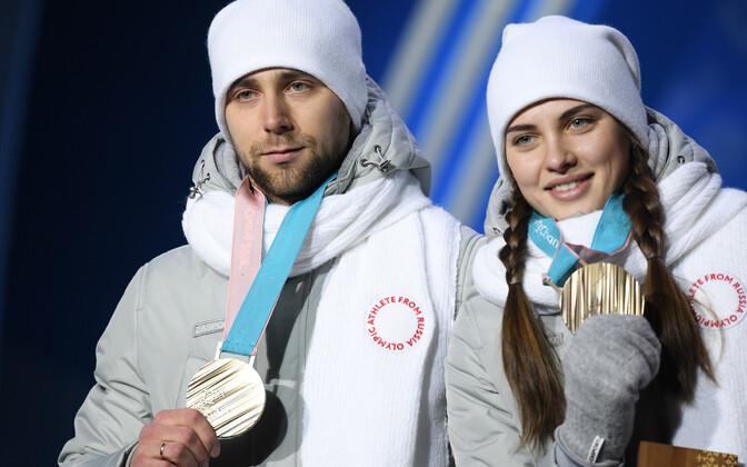Aleksandr Hrušelnitski ja Anastassia Brõzgalova