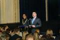 Iseseisvusmanifesti koostamise aastapäeva mälestustahvli avamine Estonias.