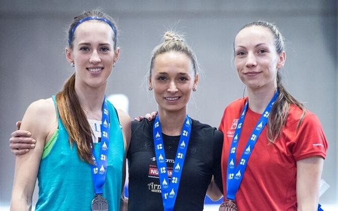 Vasakult: Tähti Alver, Ksenija Balta, Merilyn Uudmäe