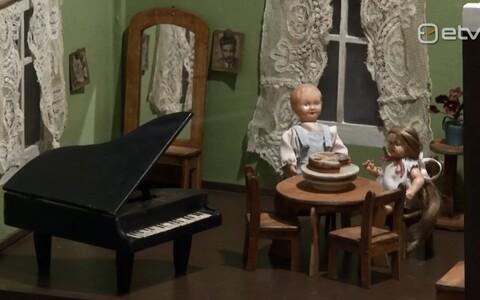 Nukud mänguasjamuuseumis näitusel