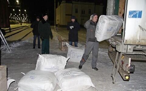 В товарных вагонах нашли контрабанду из Эстонии.