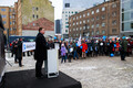 Opening ceremony of the Republic of Estonia's centennial week in Tallinn. Feb. 19, 2018.