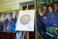 The coin was introduced at the Bank of Estonia on Feb. 19, 2018.