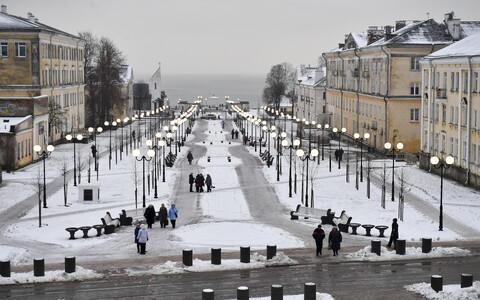 Бульвар Мере в Силламяэ. Иллюстративный снимок.