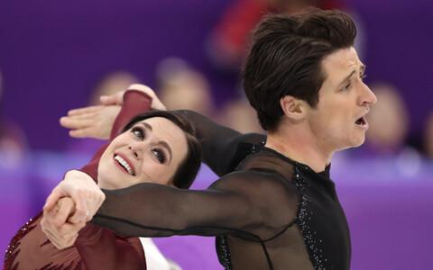 Канадские фигуристы Вирту и Моир выиграли Олимпиаду 2018 в спортивных танцах.