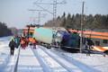 Rongi ja veoki kokkupõrge Keila lähistel