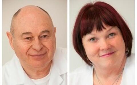 Марк Левин и Маре Леппик.