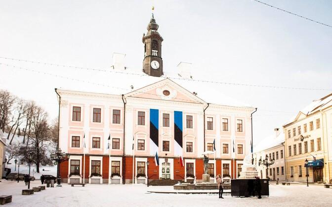 EV100 pidurüüs Tartu