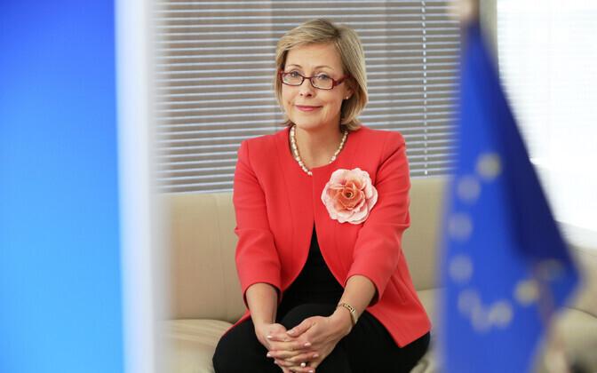 Euroopa Komisjoni ametnik Signe Ratso.