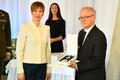 Президент Эстонии Керсти Кальюлайд в нарвском колледже.