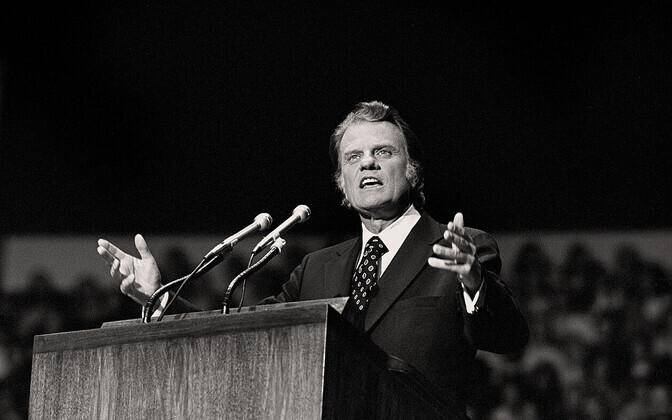 USA vaimulik William Franklin Graham (1918-2018)