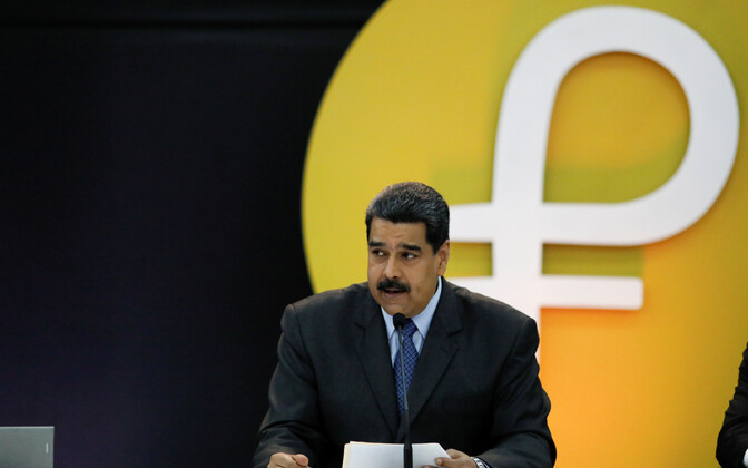 Президент Венесуэлы Николас Мадуро представил национальную криптовалюту