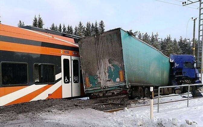 Инцидент случился на переезде Кулна.