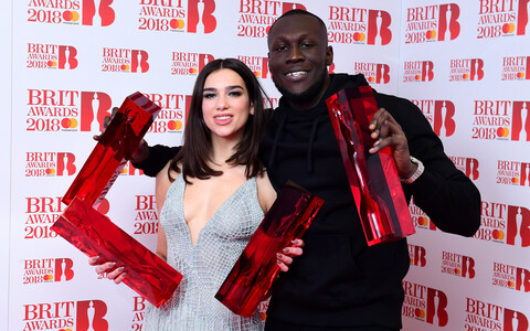 Brit Awards 2018, Dua Lipa ja Stormzy