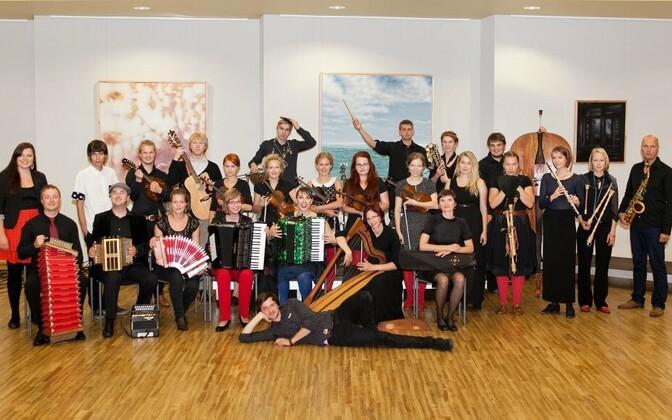 Estonian Folk Chamber Orchestra 2014. aastal