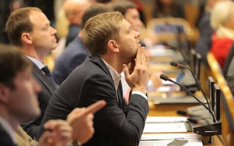 Оппозиционные депутаты против нынешней системы.